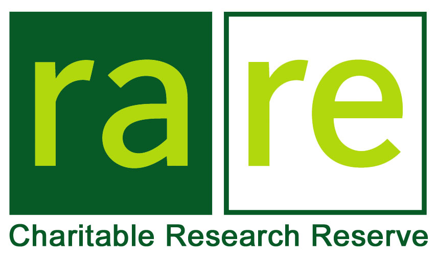 rare Charitable Research Reserve logo